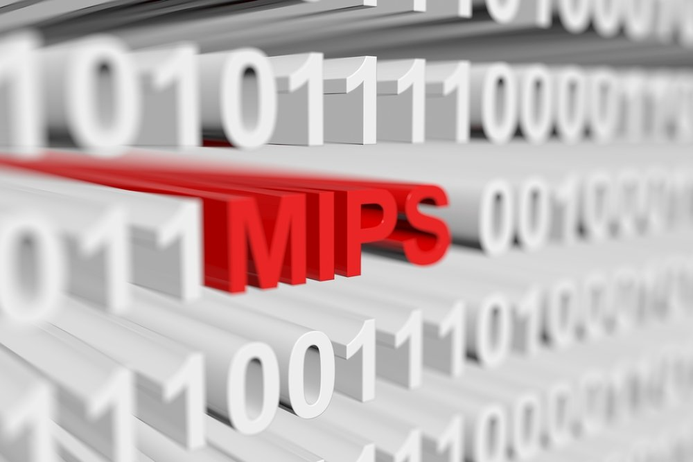 MIPS stock photo